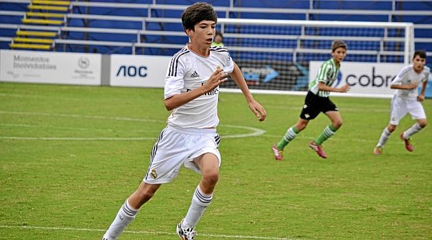Djali i Zidane mahnit me super golin e fundit