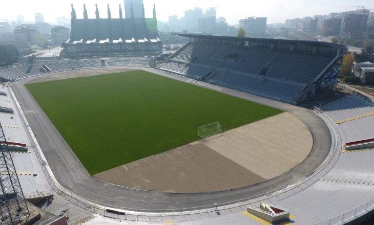 Pamje mbreslënëse nga stadiumi i Prishtinës, ja kur pritet të jetë i gatshëm (Foto)