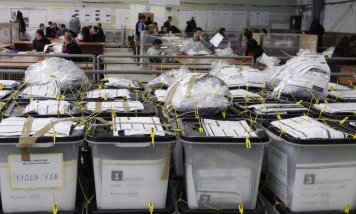 Rezultati i deritashëm i rinumërimit të votave për Rahovecin