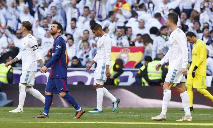 """5 arsyet pse Real Madridi u mposht nga Barcelona në """"El Clasico"""""""