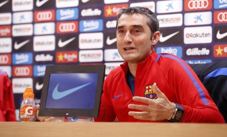 Valverde flet pas fitores së madhe në derbi të Barcelonës