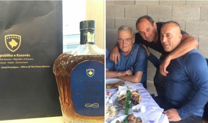 Një uiski në emër të Ramush Haradinaj – dhurata e Kryeministrit për Vitin e Ri