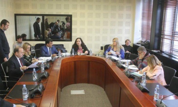 Komisioni sot shqyrton sërish projektligjin për demarkacionin