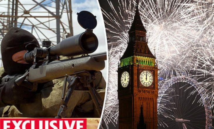 Snajpersitët sigurojnë qytetet britanike për festen e Vitit të Ri