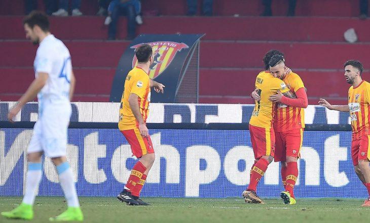 Skuadra e shqiptarëve shënon fitoren e parë në Serie A pas 19 xhirove