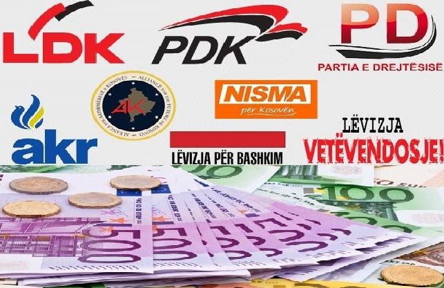 Thyerja e heshtjes zgjedhore – PZAP gjobit me mbi 120 mijë euro partitë politike
