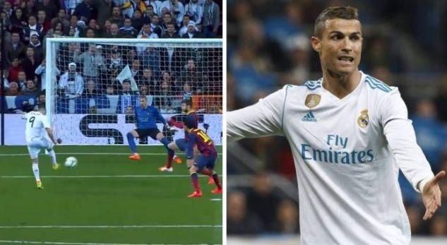 Reali publikon golat më të bukur në El Clasico, e harron Cristiano Ronaldon