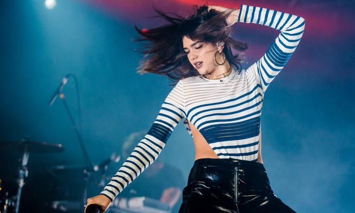 Si u bë Dua Lipa këngëtarja më e transmetuar e vitit 2017