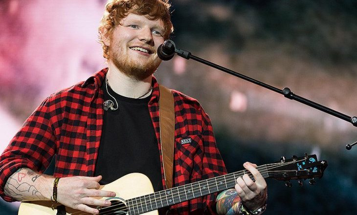 Ed Sheeran – këngëtari më i dëgjuar në botë më 2017