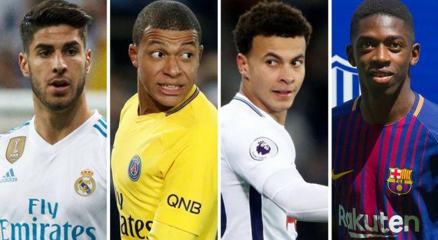 20 futbollistët e rinj më të vlefshëm në botë