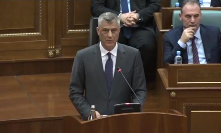 Fjalimi i fundvitit: Presidenti zotohet se Kosova do ta ketë ushtrinë në vitin 2018