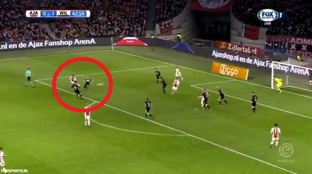 Futbollisti që po e kërkon Mourinho në United shënon super gol në Holandë [Video]