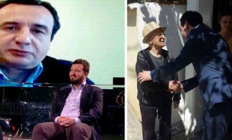 Zaimi krahason Molliqajn me Hashim Thaçin
