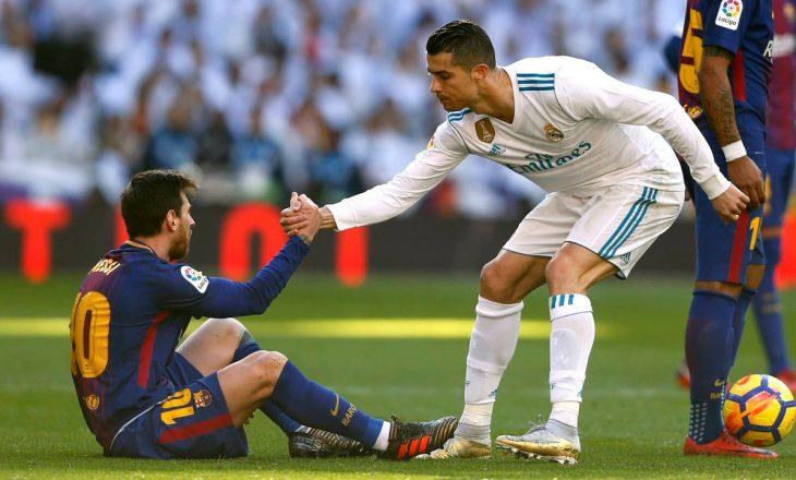 "Messi e fitoi ""duke ecur"" El Clasicon ndaj Real Madridit"