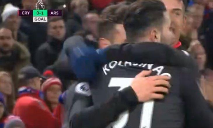 Futbollisti shqiptar i jep epërsinë Arsenalit ndaj Crystal Palace [video]