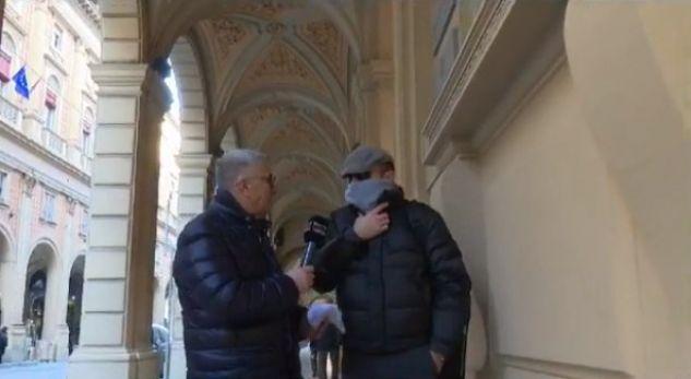 Me fytyrë të mbuluar, oficeri italian flet për krimin në Shqipëri (VIDEO)