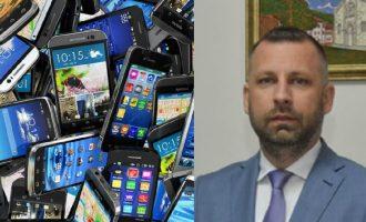 Ministria e zv.kryeministrit serb blen telefona mobil nga një kompani e printimit