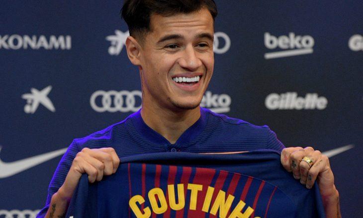 Barcelona poshtëron keq Coutinhon