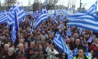 Në Athinë protestohet kundër emrit Maqedoni – mbi 1500 autobusë pritet të sjellin protestues