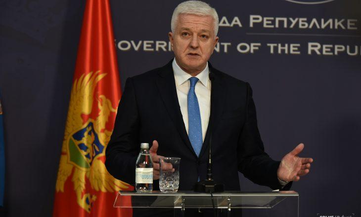 Takimet me Thaçin, Veselin e Haradinajn – agjenda e kryeministrit të Malit të Zi