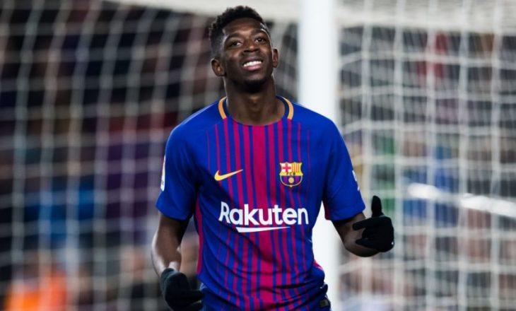 Juventus mendon transferimin e Demebele-s nga Barcelona
