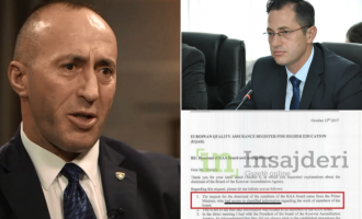"""Kryeministri tregon """"informacionet sekrete"""" me të cilat e shkarkoi Bordin e Agjencisë për Akreditim"""