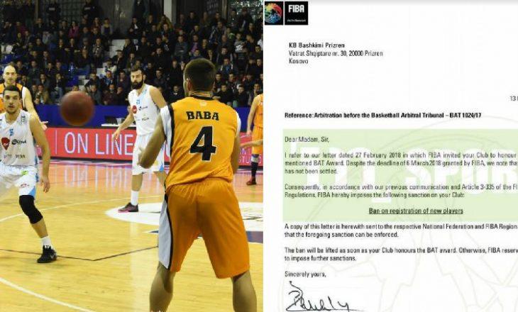 Arbitrazhi i Basketbollit merr një vendim drastik kundër KB Bashkimit