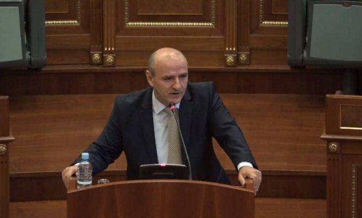 Sherifi: Thaçi bashkë me Listën Serbe po duan një Qeveri që përkrah korrigjimin e kufirit