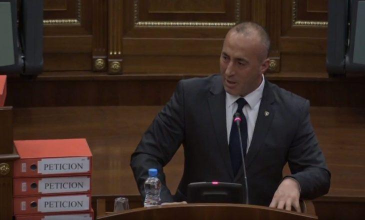 Haradinaj në interpelancë për pagesën e rrymës për veriun dhe për kontratën e termocentralit të ri