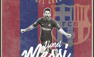 Messi 100 gola në Champions League