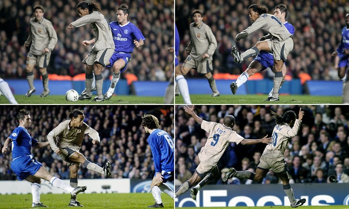 Magjia e Ronaldinho kundër Chelsea – viti 2005 (VIDEO)