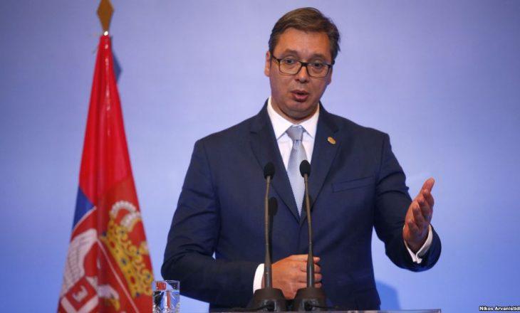 Aleksander Vuçiq komenton deportimin e gjashtë 'gylenistëve'
