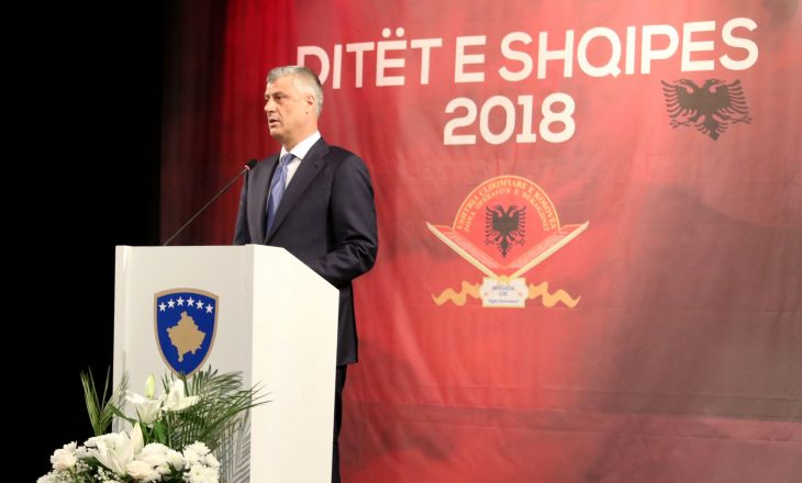 Thaçi: Pa luftën e drejtë të UÇK-së, Kosova s'do të bëhej vend i lirë