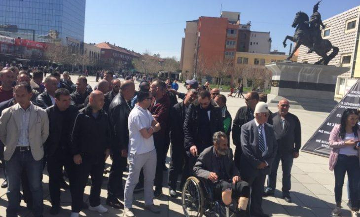 Nis protesta e veteranëve