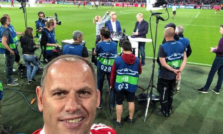 """Vazhdon ndeja e Lladrovcit dhe Jasharit – nga """"Allianz Arena"""" në darkë me boksierin e famshëm"""