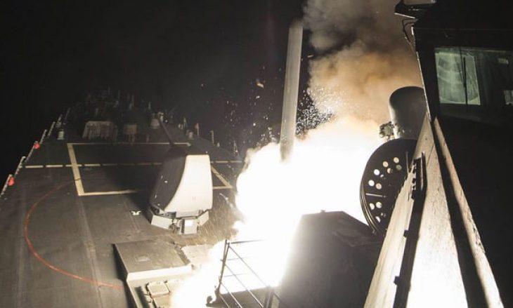 Pamje të sulmit amerikan mbi Sirinë