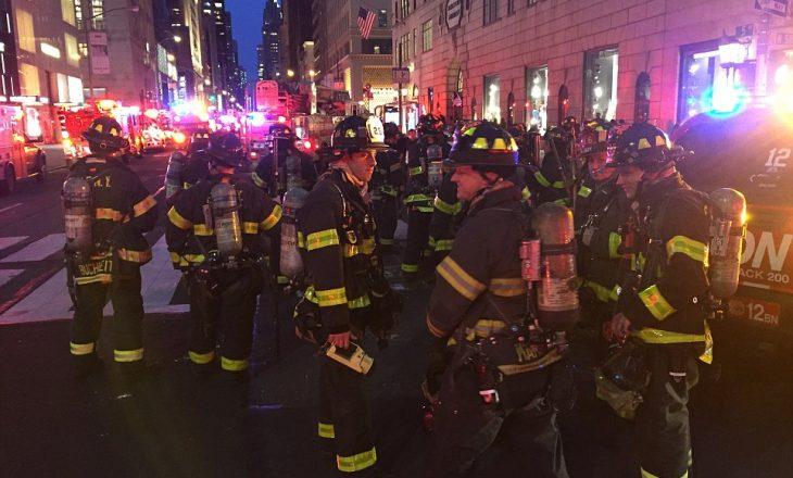 Pamje të reja – rreth 200 zjarrfikës u angazhuan për shuarjen e zjarrin në Trump Tower