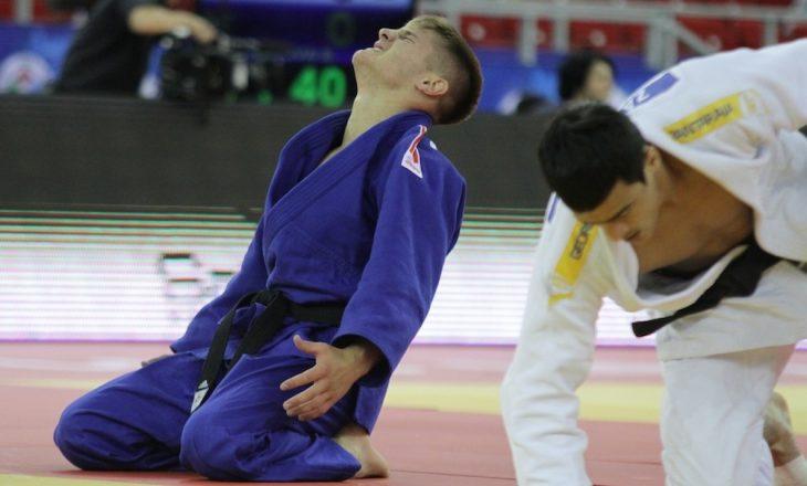 Akil Gjakova ngelet pa medalje në Evropianin e Xhudos