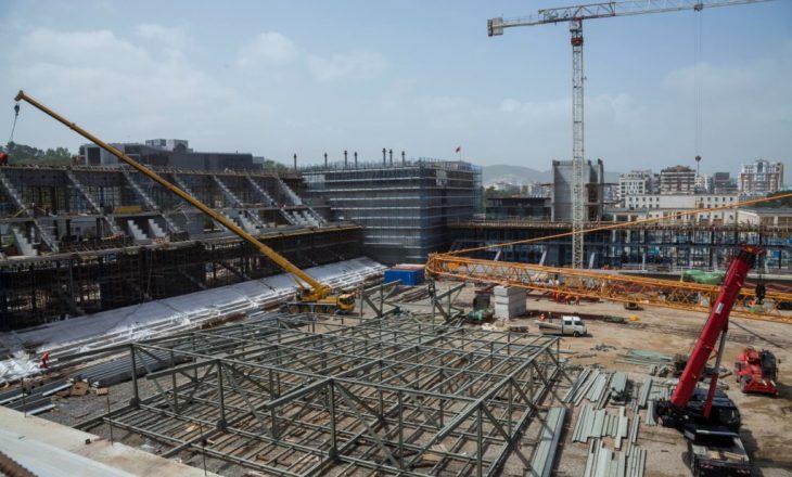 Pamje nga stadiumi i ri i Kombëtares së Shqipërisë (Video)