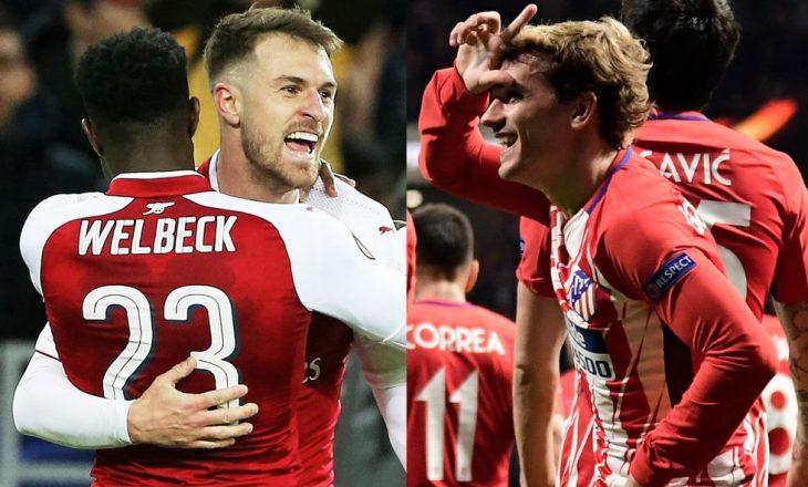 Lajm jo i mirë për Arsenal në ndeshjen kundër Atletico Madrid