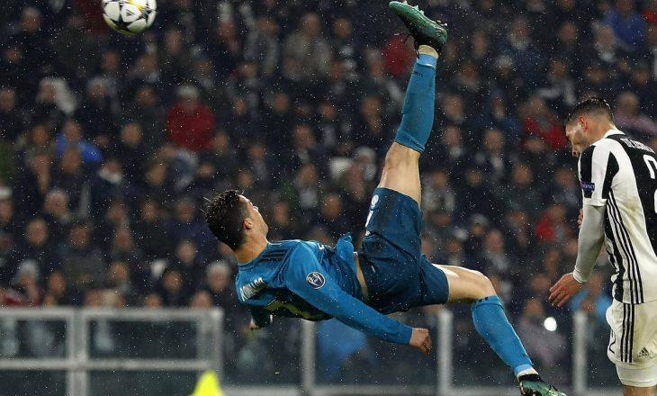 Roveshatat më bukura në histori të futbollit – ku renditet goli i Ronaldos