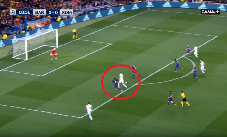 A iu mohua Romës penallti ndaj Barcelonës? [Video]
