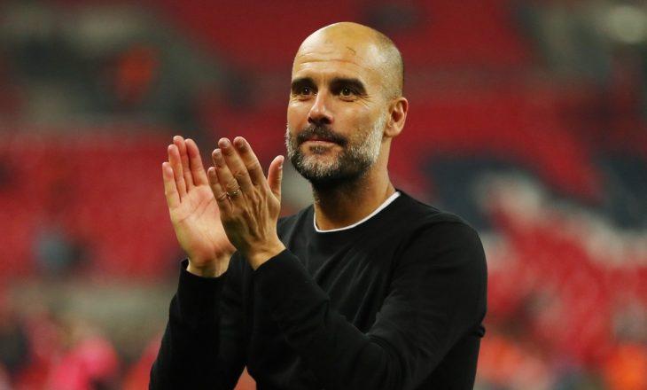 Çfarë po bënte Guardiola kur City fitoi titullin e Premierligës?