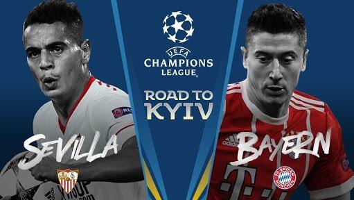 Formacionet zyrtare: Bayern Munich vs Sevilla