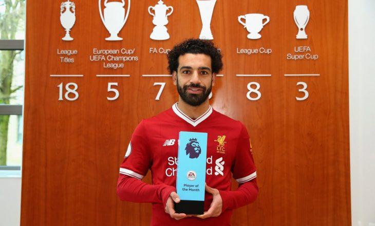 Mohamed Salah bën histori në Premier League