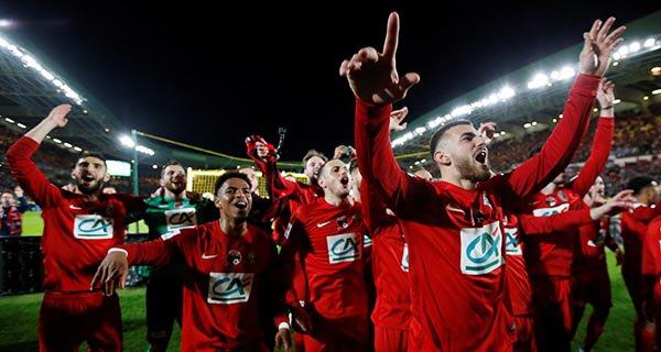 Skuadra e Ligës së Tretë të Francës, arrin në finale të Kupës