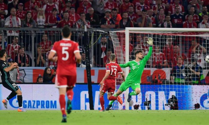Bayern Munich – Real Madrid: notat e lojtarëve