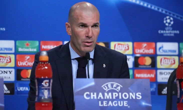 """Zinedine Zidane: """"na pëlqen fusha e Bayern Munich"""""""