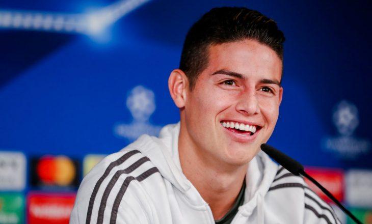 A do të festojë James nëse shënon ndaj Realit – befason kolumbiani