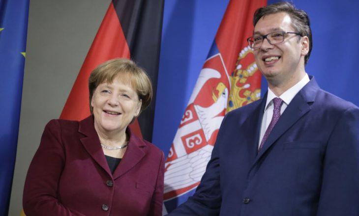Vuçiq përsëri takohet me Merkelin gjatë këtij muaji